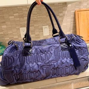 Juicy Couture Blue Duffel Bag